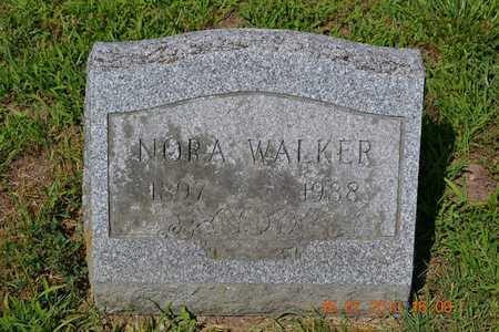 WALKER, NORA - Branch County, Michigan | NORA WALKER - Michigan Gravestone Photos