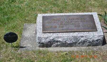 WALWORTH, JOHN K. - Branch County, Michigan | JOHN K. WALWORTH - Michigan Gravestone Photos
