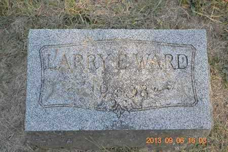 WARD, LARRY E. - Branch County, Michigan | LARRY E. WARD - Michigan Gravestone Photos