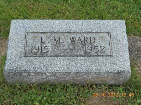 WARD, L.M. - Branch County, Michigan | L.M. WARD - Michigan Gravestone Photos