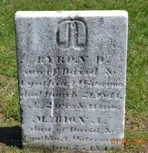 WATERMAN, MARION A. - Branch County, Michigan   MARION A. WATERMAN - Michigan Gravestone Photos