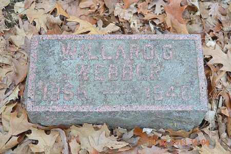 WEBBER, WILLARD G. - Branch County, Michigan | WILLARD G. WEBBER - Michigan Gravestone Photos