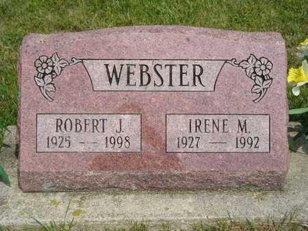 WEBSTER, IRENE M. - Branch County, Michigan | IRENE M. WEBSTER - Michigan Gravestone Photos