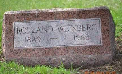 WEINBERG, ROLLAND(CLOSEUP) - Branch County, Michigan | ROLLAND(CLOSEUP) WEINBERG - Michigan Gravestone Photos