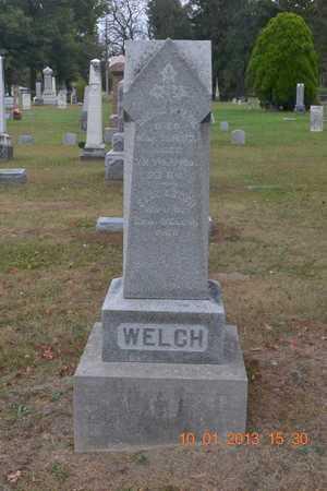 WELCH, FAMILY - Branch County, Michigan | FAMILY WELCH - Michigan Gravestone Photos
