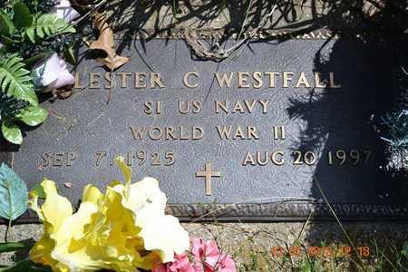 WESTFALL, LESTER C.(CLOSEUP) - Branch County, Michigan | LESTER C.(CLOSEUP) WESTFALL - Michigan Gravestone Photos