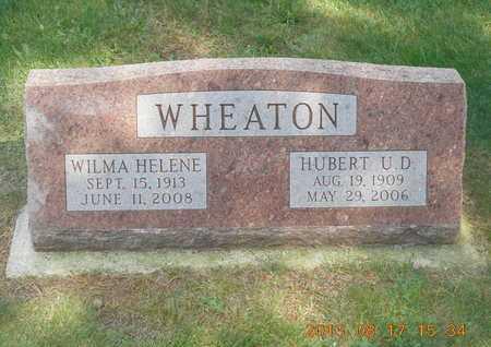 WHEATON, WILMA HELENE - Branch County, Michigan   WILMA HELENE WHEATON - Michigan Gravestone Photos
