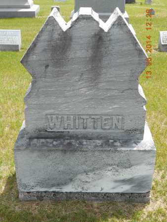 WHITTEN, FAMILY - Branch County, Michigan | FAMILY WHITTEN - Michigan Gravestone Photos