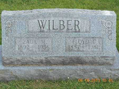 WILBER, ZADA M. - Branch County, Michigan | ZADA M. WILBER - Michigan Gravestone Photos