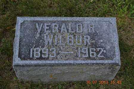 WILBUR, VERALD - Branch County, Michigan | VERALD WILBUR - Michigan Gravestone Photos
