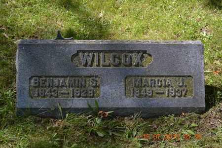 WILCOX, BENJAMIN - Branch County, Michigan | BENJAMIN WILCOX - Michigan Gravestone Photos