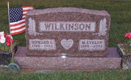 WILKINSON, HOWARD - Branch County, Michigan | HOWARD WILKINSON - Michigan Gravestone Photos