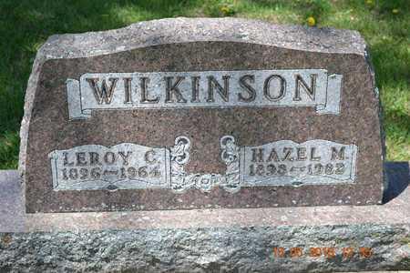 WILKINSON, LEROY C. - Branch County, Michigan   LEROY C. WILKINSON - Michigan Gravestone Photos