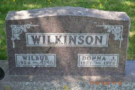 WILKINSON, DONNA J. - Branch County, Michigan | DONNA J. WILKINSON - Michigan Gravestone Photos