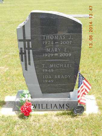 BRADY WILLIAMS, IDA - Branch County, Michigan   IDA BRADY WILLIAMS - Michigan Gravestone Photos