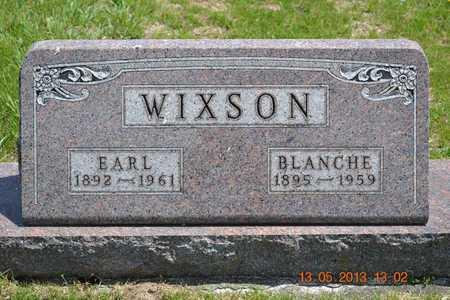 WIXSON, EARL - Branch County, Michigan | EARL WIXSON - Michigan Gravestone Photos