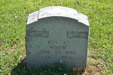 WOLFE, ROY L. - Branch County, Michigan   ROY L. WOLFE - Michigan Gravestone Photos
