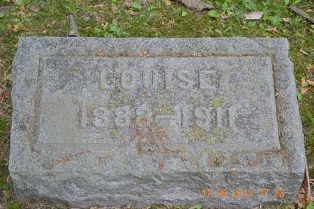 WOODMASTER, LOUISE - Branch County, Michigan | LOUISE WOODMASTER - Michigan Gravestone Photos