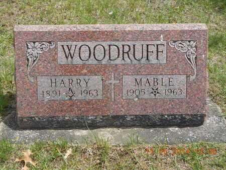 WOODRUFF, MABLE - Branch County, Michigan | MABLE WOODRUFF - Michigan Gravestone Photos