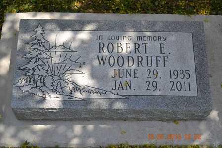 WOODRUFF, ROBERT E. - Branch County, Michigan | ROBERT E. WOODRUFF - Michigan Gravestone Photos