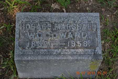 WOODWARD, HORACE MARSHALL - Branch County, Michigan | HORACE MARSHALL WOODWARD - Michigan Gravestone Photos