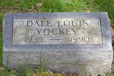 YOCKEY, DALE LOUIS - Branch County, Michigan   DALE LOUIS YOCKEY - Michigan Gravestone Photos