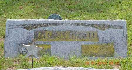 ZIMMERMAN, DANIEL - Branch County, Michigan   DANIEL ZIMMERMAN - Michigan Gravestone Photos