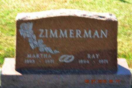 ZIMMERMAN, RAY - Branch County, Michigan | RAY ZIMMERMAN - Michigan Gravestone Photos
