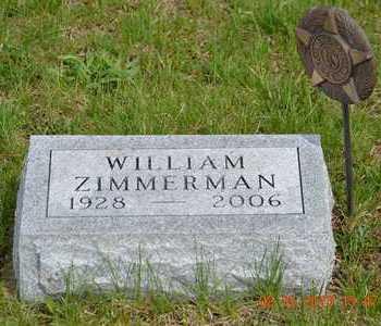 ZIMMERMAN, WILLIAM - Branch County, Michigan | WILLIAM ZIMMERMAN - Michigan Gravestone Photos