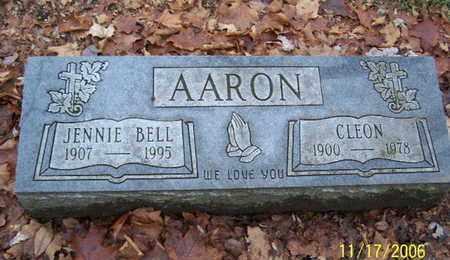 AARON, CLEON - Calhoun County, Michigan | CLEON AARON - Michigan Gravestone Photos
