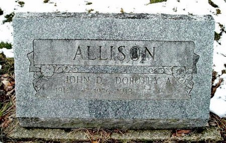 ALLISON, DOROTHY - Calhoun County, Michigan | DOROTHY ALLISON - Michigan Gravestone Photos