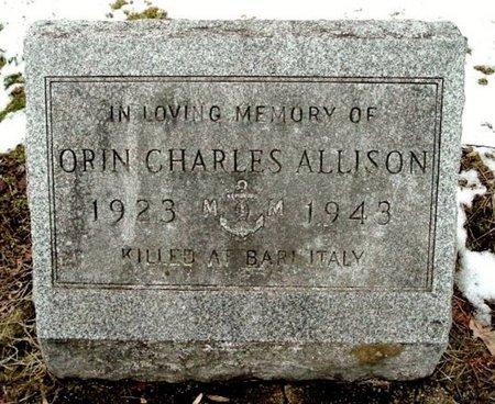 ALLISON, ORIN C. - Calhoun County, Michigan | ORIN C. ALLISON - Michigan Gravestone Photos
