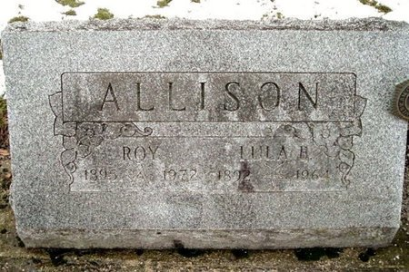 ALLISON, LULA - Calhoun County, Michigan | LULA ALLISON - Michigan Gravestone Photos