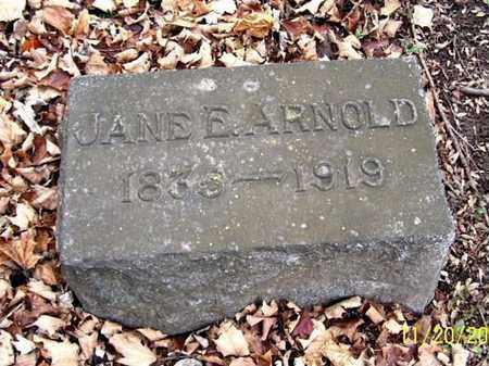 MILLER ARNOLD, JANE E. - Calhoun County, Michigan | JANE E. MILLER ARNOLD - Michigan Gravestone Photos