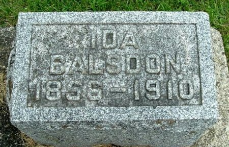 BALSOON, IDA - Calhoun County, Michigan | IDA BALSOON - Michigan Gravestone Photos