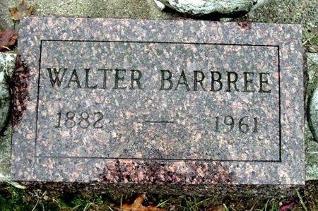BARBREE, WALTER - Calhoun County, Michigan | WALTER BARBREE - Michigan Gravestone Photos