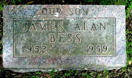 BESS, JAMES A - Calhoun County, Michigan | JAMES A BESS - Michigan Gravestone Photos