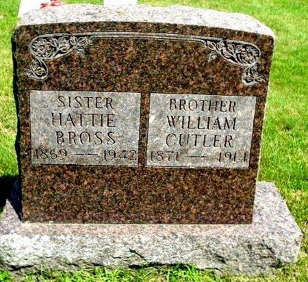 CUTLER, WILLIAM - Calhoun County, Michigan   WILLIAM CUTLER - Michigan Gravestone Photos