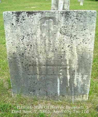 BROWNELL, HARRIET - Calhoun County, Michigan | HARRIET BROWNELL - Michigan Gravestone Photos