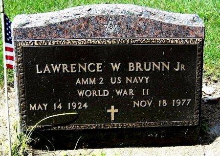BRUNN, LAWRENCE W. JR - Calhoun County, Michigan | LAWRENCE W. JR BRUNN - Michigan Gravestone Photos