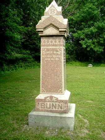 BUNN, GEORGE - Calhoun County, Michigan | GEORGE BUNN - Michigan Gravestone Photos