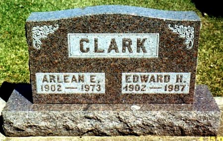 CLARK, EDWARD H. - Calhoun County, Michigan | EDWARD H. CLARK - Michigan Gravestone Photos