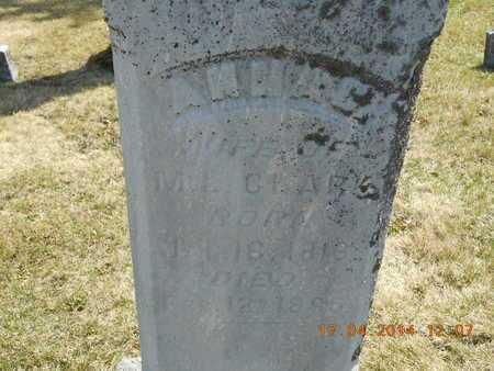 CLARK, ANNA C. - Calhoun County, Michigan | ANNA C. CLARK - Michigan Gravestone Photos
