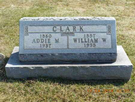 CLARK, WILLIAM W. - Calhoun County, Michigan | WILLIAM W. CLARK - Michigan Gravestone Photos