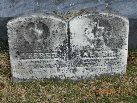 CLARK, ALFRED - Calhoun County, Michigan | ALFRED CLARK - Michigan Gravestone Photos