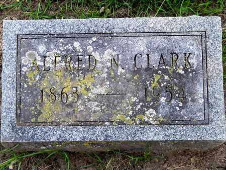 CLARK, ALFRED N. - Calhoun County, Michigan | ALFRED N. CLARK - Michigan Gravestone Photos