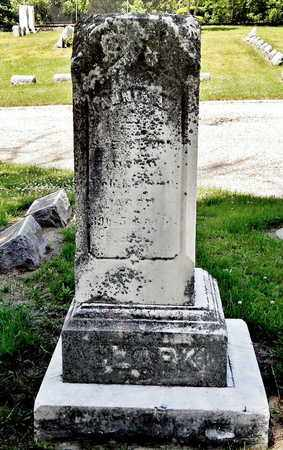 CLARK, ANNIE A. - Calhoun County, Michigan | ANNIE A. CLARK - Michigan Gravestone Photos