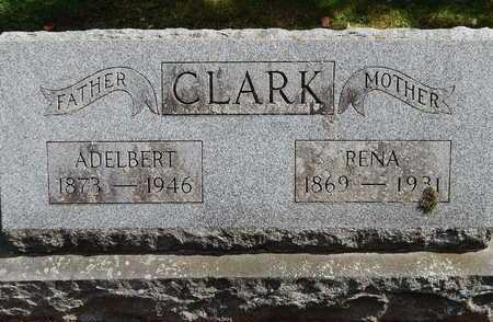 CLARK, ADELBERT - Calhoun County, Michigan | ADELBERT CLARK - Michigan Gravestone Photos