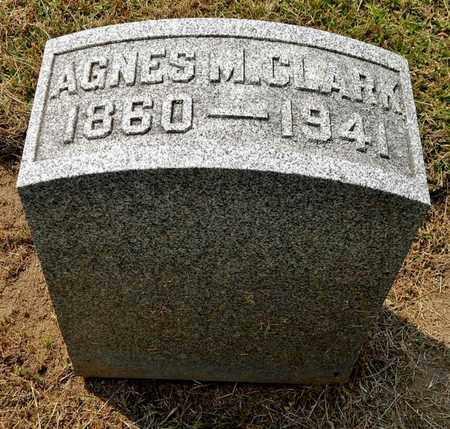 CLARK, AGNES M - Calhoun County, Michigan | AGNES M CLARK - Michigan Gravestone Photos