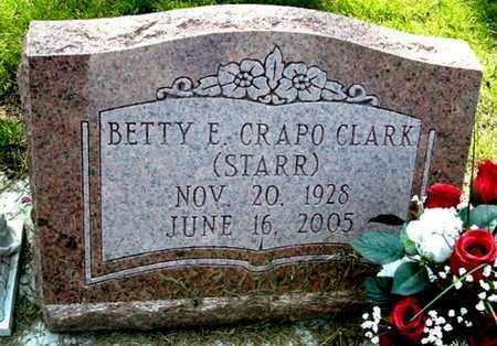 CLARK, BETTY - Calhoun County, Michigan   BETTY CLARK - Michigan Gravestone Photos